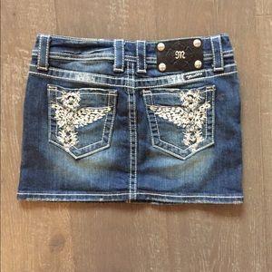 Miss Me jean skirt EUC Make an offer